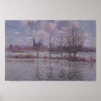 Gustave Loiseau- Flood Near Nantes Print