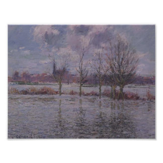 Gustave Loiseau- Flood Near Nantes Poster