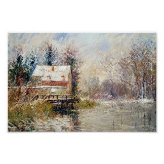 Gustave Loiseau- House by the Water Posters