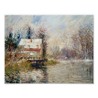 Gustave Loiseau- House by the Water Poster