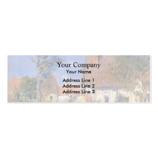 Gustave Loiseau- Houses in Normandy Business Card Template