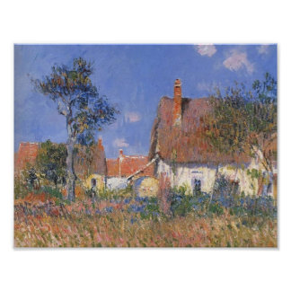 Gustave Loiseau- Houses in Normandy Poster