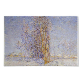 Gustave Loiseau- Landscape in Snow Poster