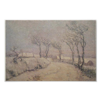 Gustave Loiseau- Landscape in Snow Posters