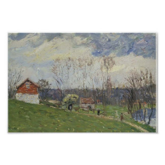 Gustave Loiseau- Landscape with House Poster