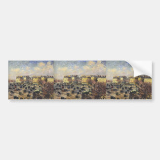 Gustave Loiseau- Paris   Wagram Avenue Bumper Stickers