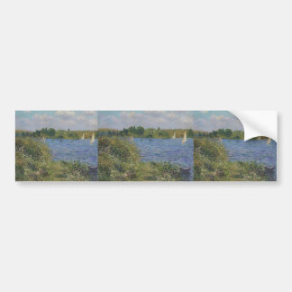 Gustave Loiseau- Port Joie at the Seine Bumper Sticker