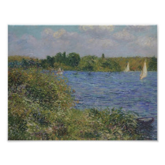 Gustave Loiseau- Port Joie at the Seine Posters