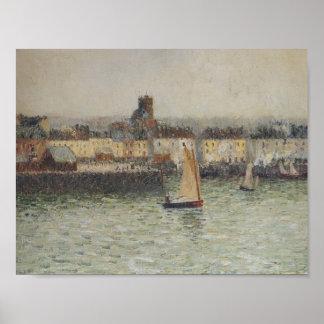 Gustave Loiseau- Port of Dieppe Print