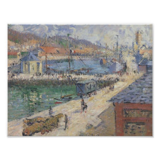 Gustave Loiseau- Port of Fecamp Posters