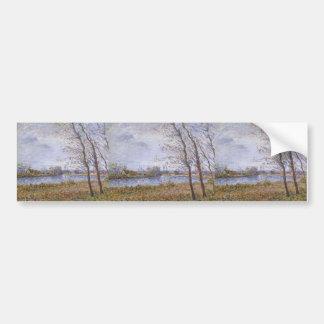 Gustave Loiseau- Port Pinche at Turn of the Seine Bumper Stickers