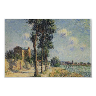 Gustave Loiseau- Quay at Dieppe Print