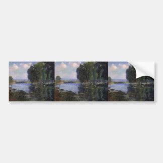 Gustave Loiseau- River Bend in Normandy Bumper Sticker
