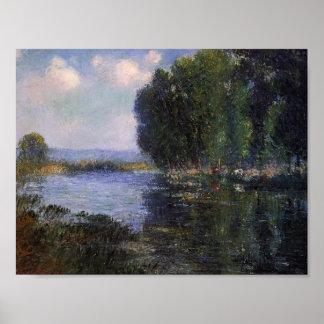 Gustave Loiseau- River Bend in Normandy Print