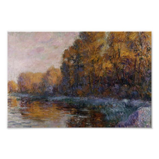 Gustave Loiseau- River in Autumn Posters