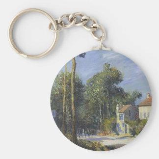 Gustave Loiseau- Road to Versailles Keychains