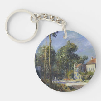 Gustave Loiseau- Road to Versailles Acrylic Keychain