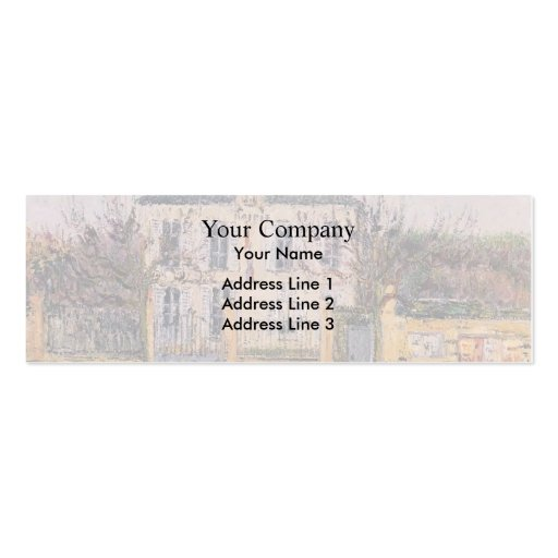 Gustave Loiseau- The House Business Card