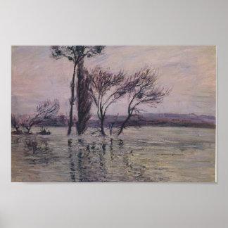 Gustave Loiseau- The Pointe de L Ile Under Water Poster