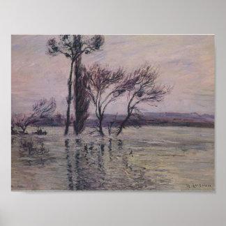 Gustave Loiseau- The Pointe de L Ile Under Water Posters