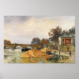 Gustave Loiseau- The Pont Marie de Paris Posters
