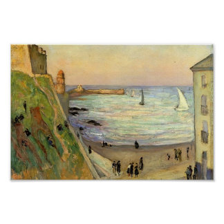Gustave Loiseau- The Port at Collioure Print