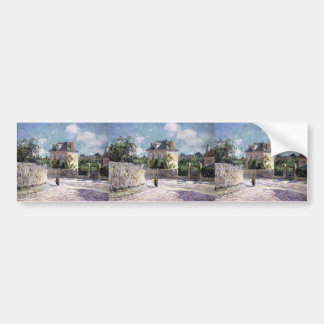 Gustave Loiseau- The Small Bourgeois House Bumper Sticker