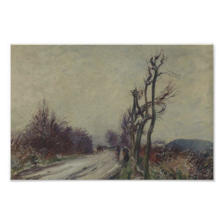 Gustave Loiseau- Village Road in Autumn Poster