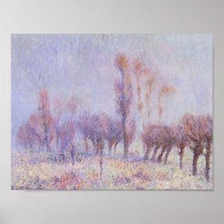 Gustave Loiseau- Willows in Fog Print