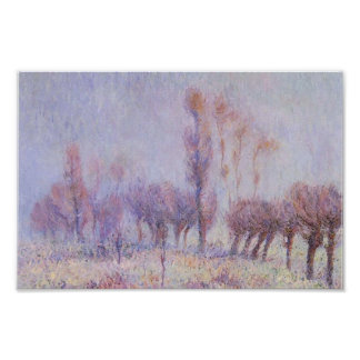 Gustave Loiseau- Willows in Fog Posters