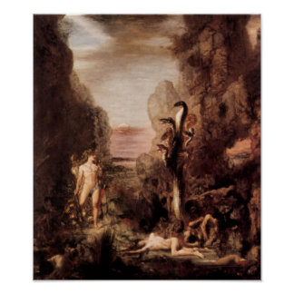 Gustave Moreau - Hercules and the Hydra Poster
