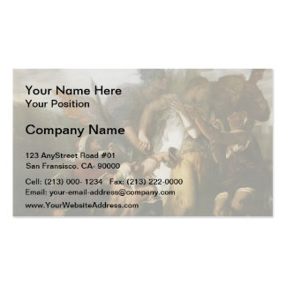 Gustave Moreau- Song of songs Business Card