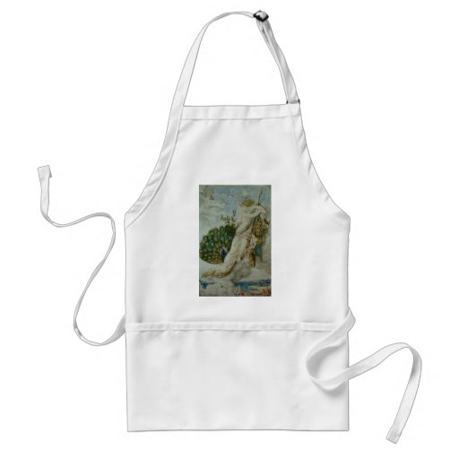 Gustave Moreau: The Peacock complaining to Juno Aprons