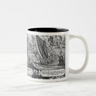 Gustavus Adolphus landing at Stralsund in 1630 Mugs