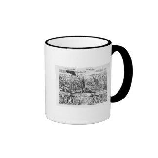 Gustavus Adolphus landing at Stralsund in 1630 Coffee Mugs