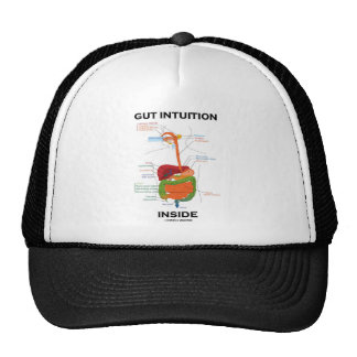 Gut Intuition Inside Digestive System Humor Hat