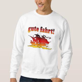 Gute Fahrt Good Trip in German Vacations Travel Sweatshirt