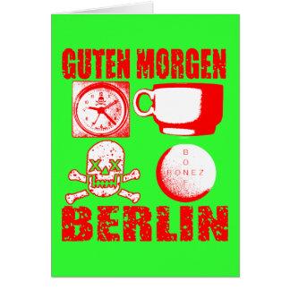 GUTEN MORGEN BERLIN GREETING CARDS