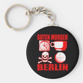 GUTEN MORGEN BERLIN KEYCHAIN