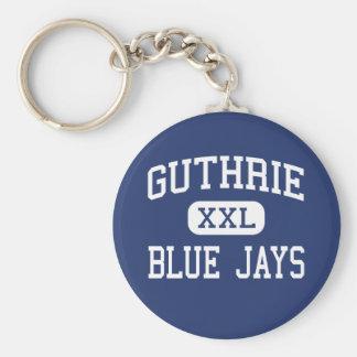 Guthrie - Blue Jays - High - Guthrie Oklahoma Key Ring