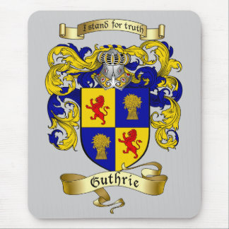 Guthrie Coat of Arms Mouse Mat