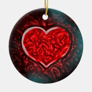 Gutsy Valentine Christmas Ornament