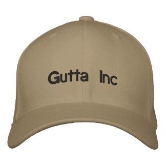 Gutta Inc Embroidered Baseball Caps