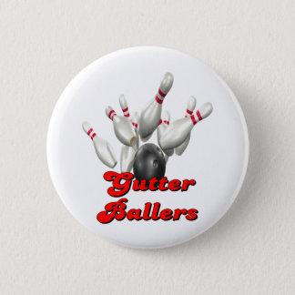 Gutter Ballers 6 Cm Round Badge
