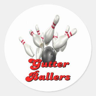 Gutter Ballers Classic Round Sticker