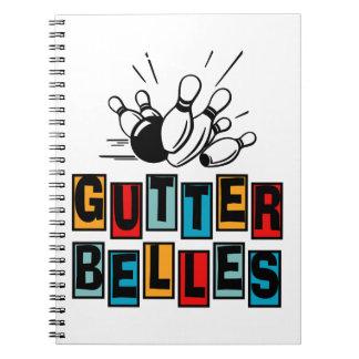 Gutter Belles Spiral Note Books