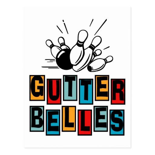 Gutter Belles Post Card
