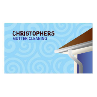 Gutter Cleaning Business Cards