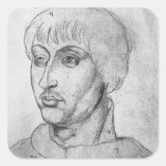 Guy de Brimeu, Lord of Humbercourt Square Sticker
