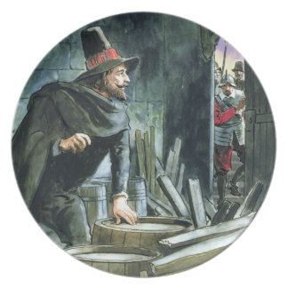 Guy Fawkes, from 'Peeps into the Past', published Plate